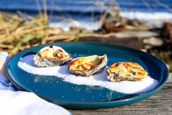 Miso Baked Oyster Recipe