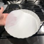 How to line a tart pan with parchment paper