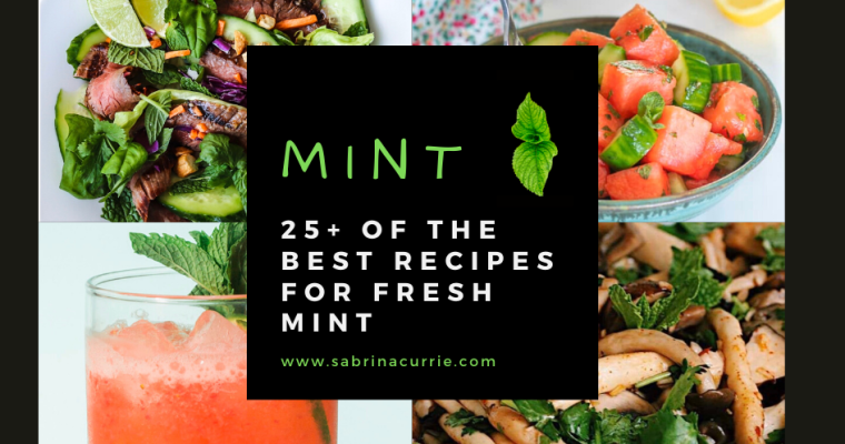 25+ Best Fresh Mint Recipes