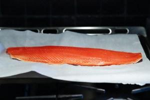 Fresh Wild Sockeye Salmon Fillet