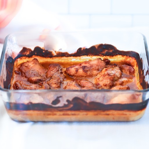 Quick and easy Peanut Sauce Baked Chicken is a fast weeknight meal