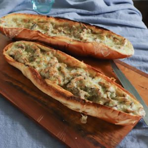 Bubbly Browned Mushroom Melt Recipe