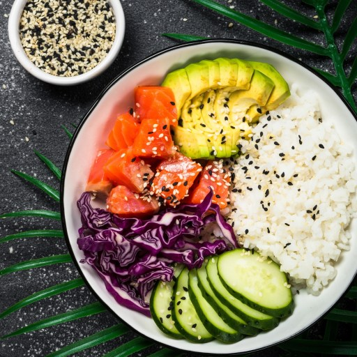 Chirashi Sushi Bowl-Easy Japanese Sushi Dish Recipe