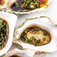 Steamed Oysters from Fanny Bay