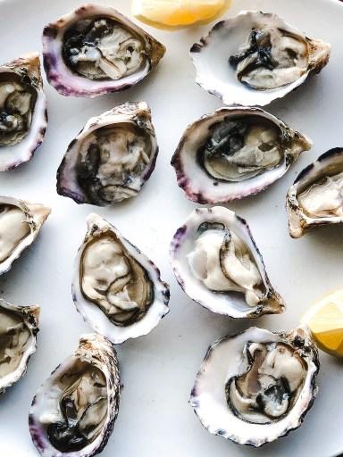 Royal Miyagi Oysters On The Half Shell
