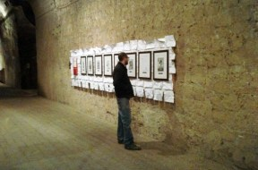 """Sabrina D'Alessandro, """"Comicon, Salone internazionale del fumetto"""", Castel Sant'Elmo, Napoli 2011"""