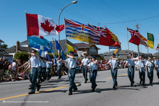 Canada Day Steveston July 2017