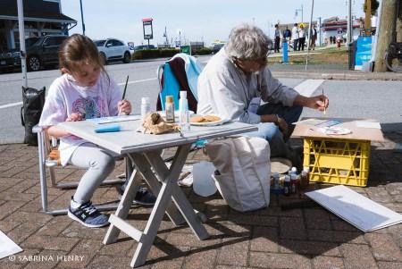 en plein air steveston richmond 2017