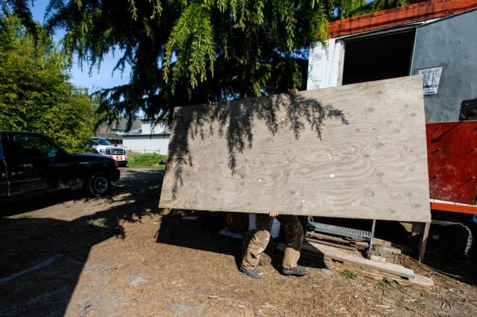 tiny house built by kimi hendess steveston richmond bc 2015