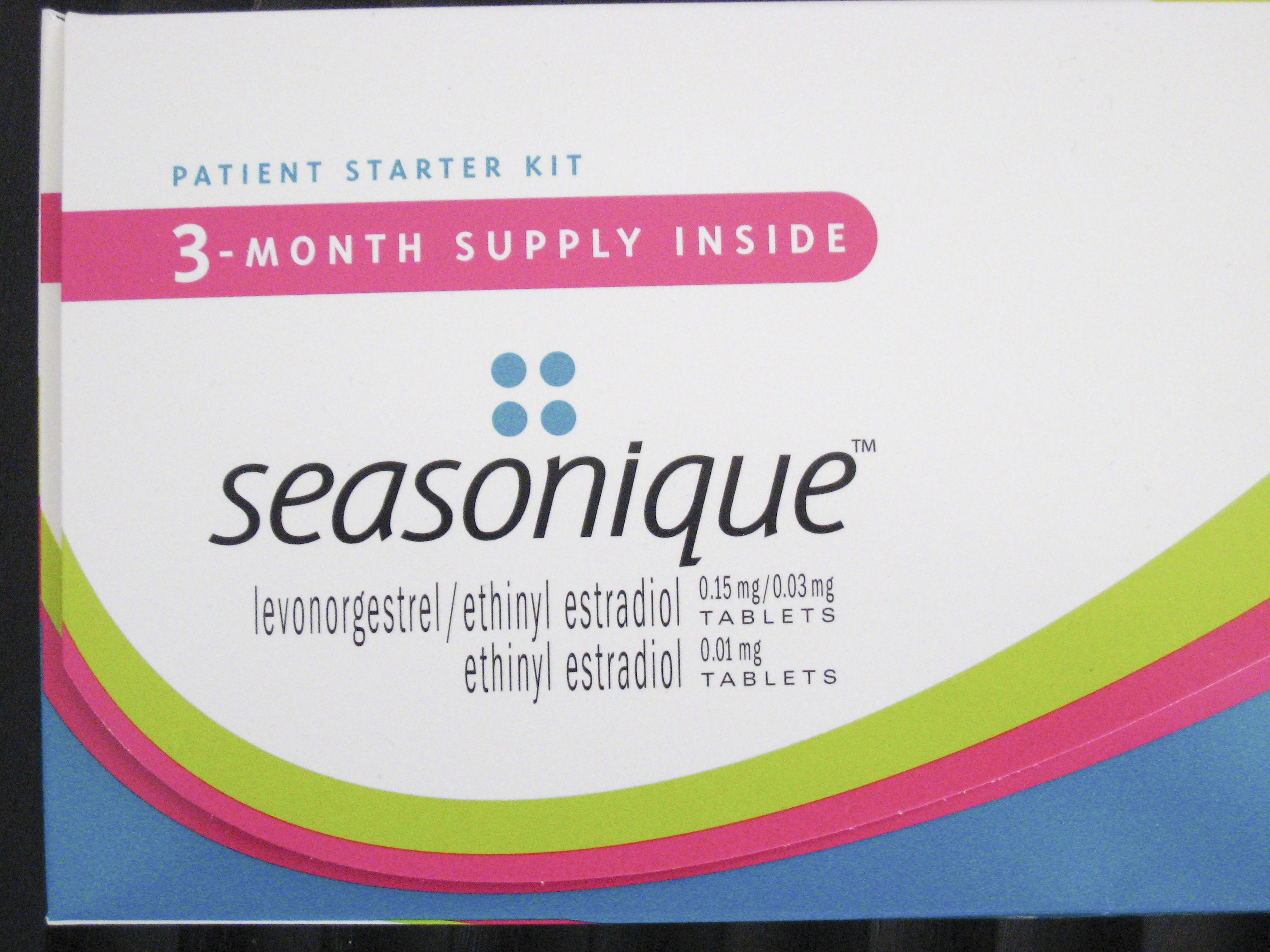 四季避孕藥 (Seasonique) – 認真的女人最美