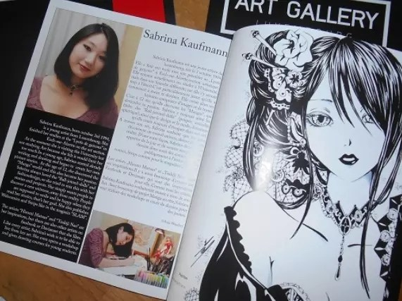 Art Gallery #1 - 5 pages - Article by Anja Wandrey