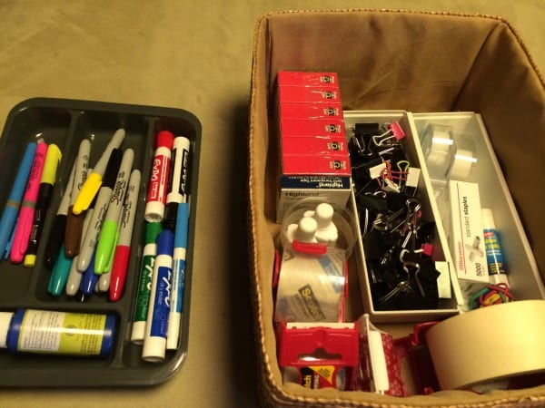 office supplies on the cheap