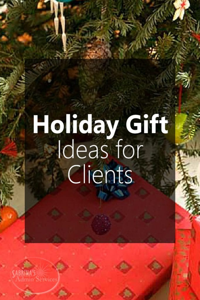 5 Favorite Holiday Gift Ideas for Clients & Holiday Gift Ideas for Clients!
