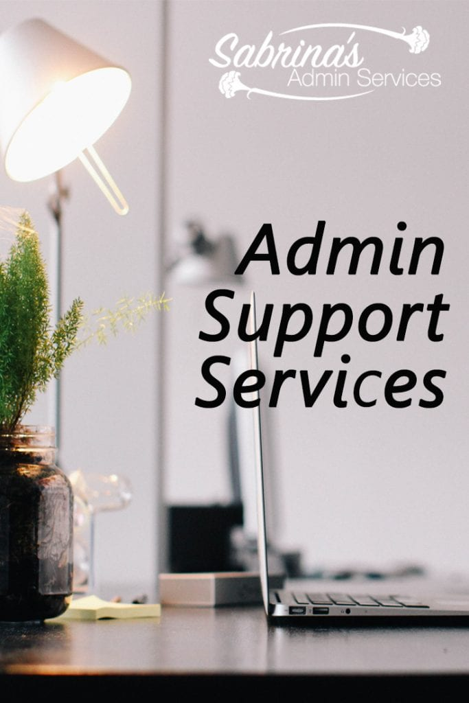 Administrative Support Services  Sabrinas Admin Services