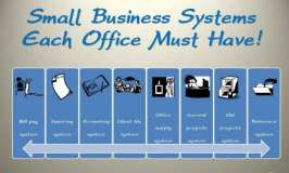 Small Business Systems Each Office Should Have free download