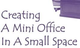 creating mini office