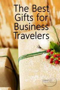 The Best Gifts for the Business Traveler