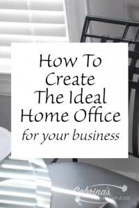 How to Create the Ideal Home Office for your business