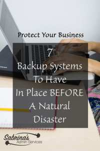7 Backup Systems To Have In Place Before A Natural Disaster