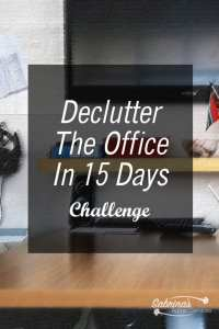 Declutter The Office In 15 Days