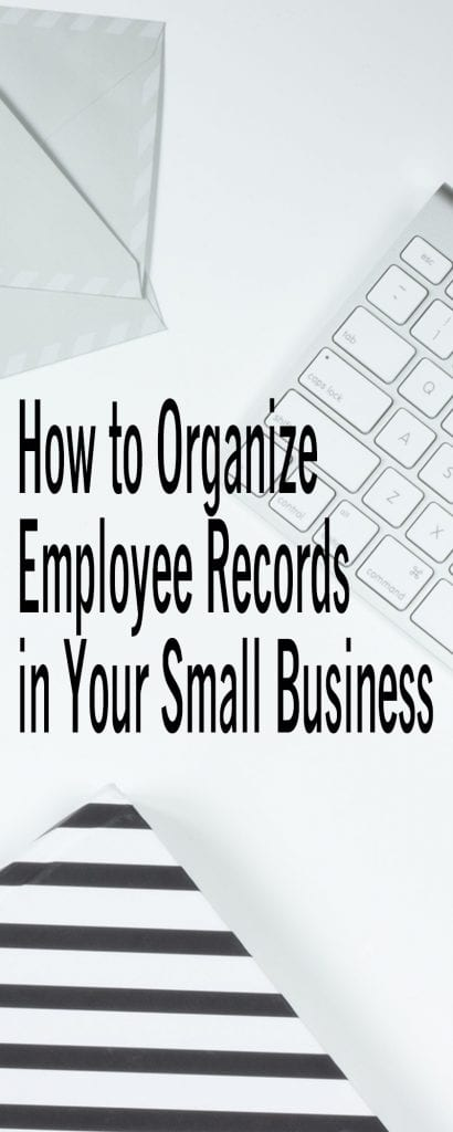 How To Organize Employee Records in your small business