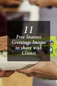 11 Free Seasons Greetings Images to Share With Clients