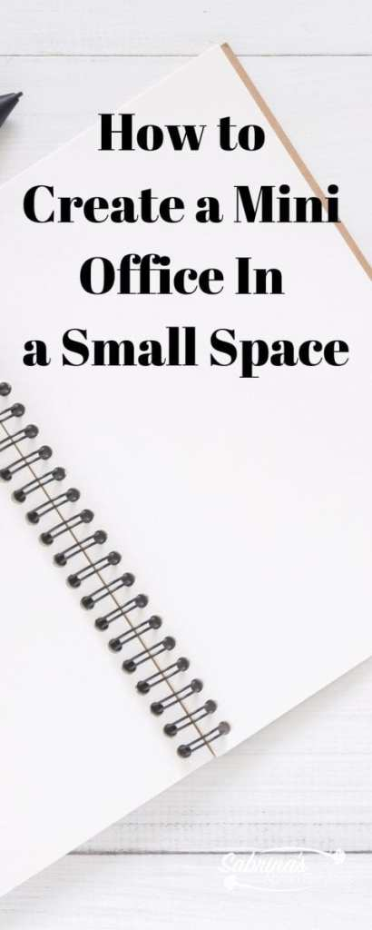 How to create a mini office in your small space