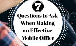 questions to ask when making a mobile office for your small business