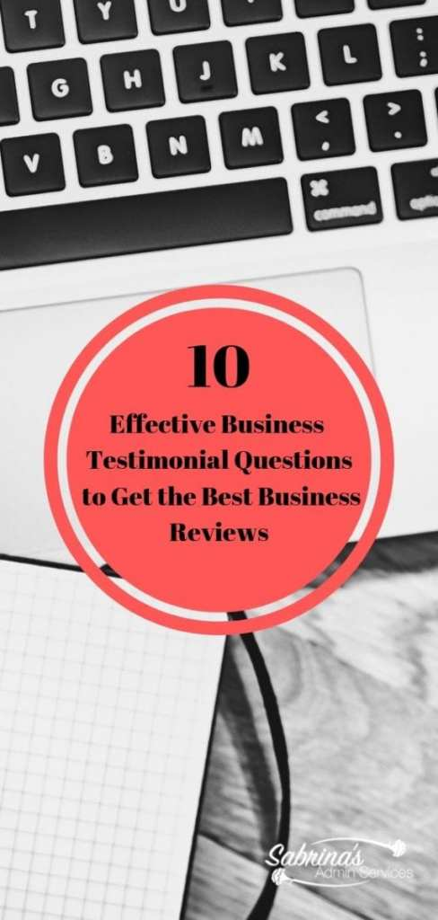 10 Effective Business Testimonial Questions to Get the Best Business Reviews