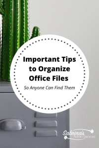 Important Tips to Organize Office Files - So Anyone Can Find Them