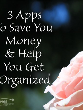 Three Apps to Save You Money and Help You Get Organized