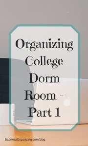 Things You Absolutely Need When Organizing College Dorm Room - Part 1