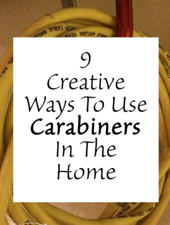 9 Creative ways to use carabiners in the home
