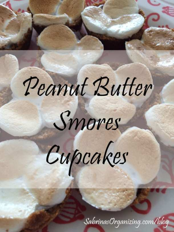 Peanut Butter Smores Cupcakes