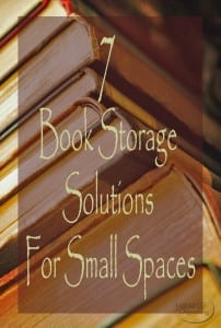 7 Book Storage Solutions For Small Spaces | Sabrina's Organizing