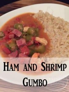 ham and shrimp gumbo | Sabrina's Organizing