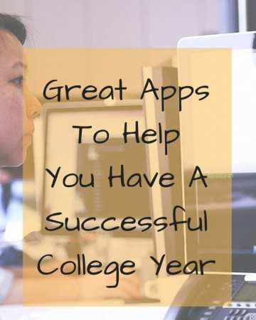 Great Apps To Help With A Successful College Year