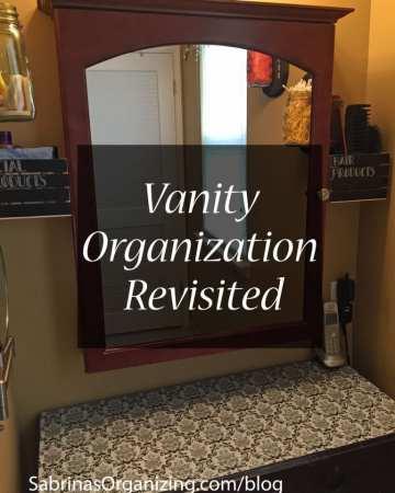 Vanity Organization Revisited