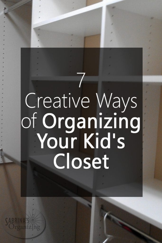 7 Creative Ways of Organizing Your Kids Closet  Sabrina