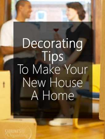 Decorating Tips To Make Your New House A Home