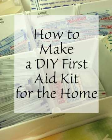 How to Make a DIY First Aid Kit for the Home