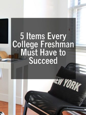 5 Items Every College Freshman Must Have to Succeed
