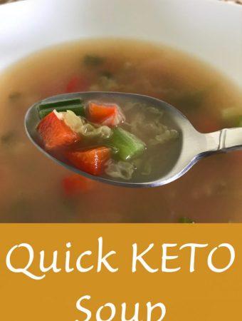 Quick KETO Soup Recipe