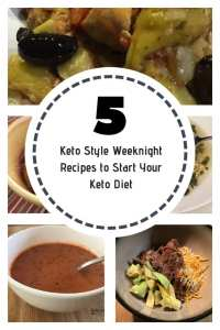 Five Keto Style Weeknight Recipes to Start Your Keto Diet