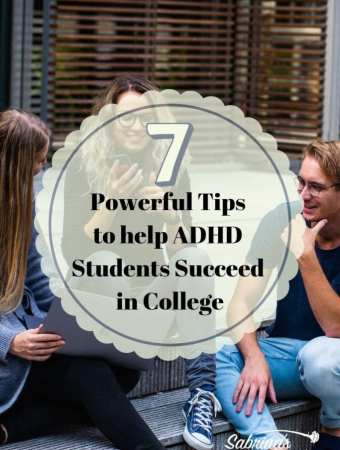 7 Powerful Tips to help ADHD Students Succeed in College