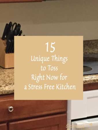 15 Unique Things to Toss Right Now for a Stress Free Kitchen