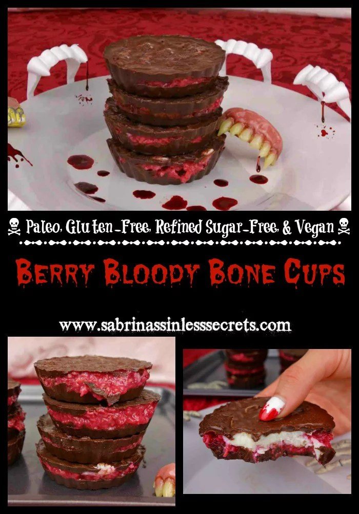 Berry Bloody Bone Cups Collage