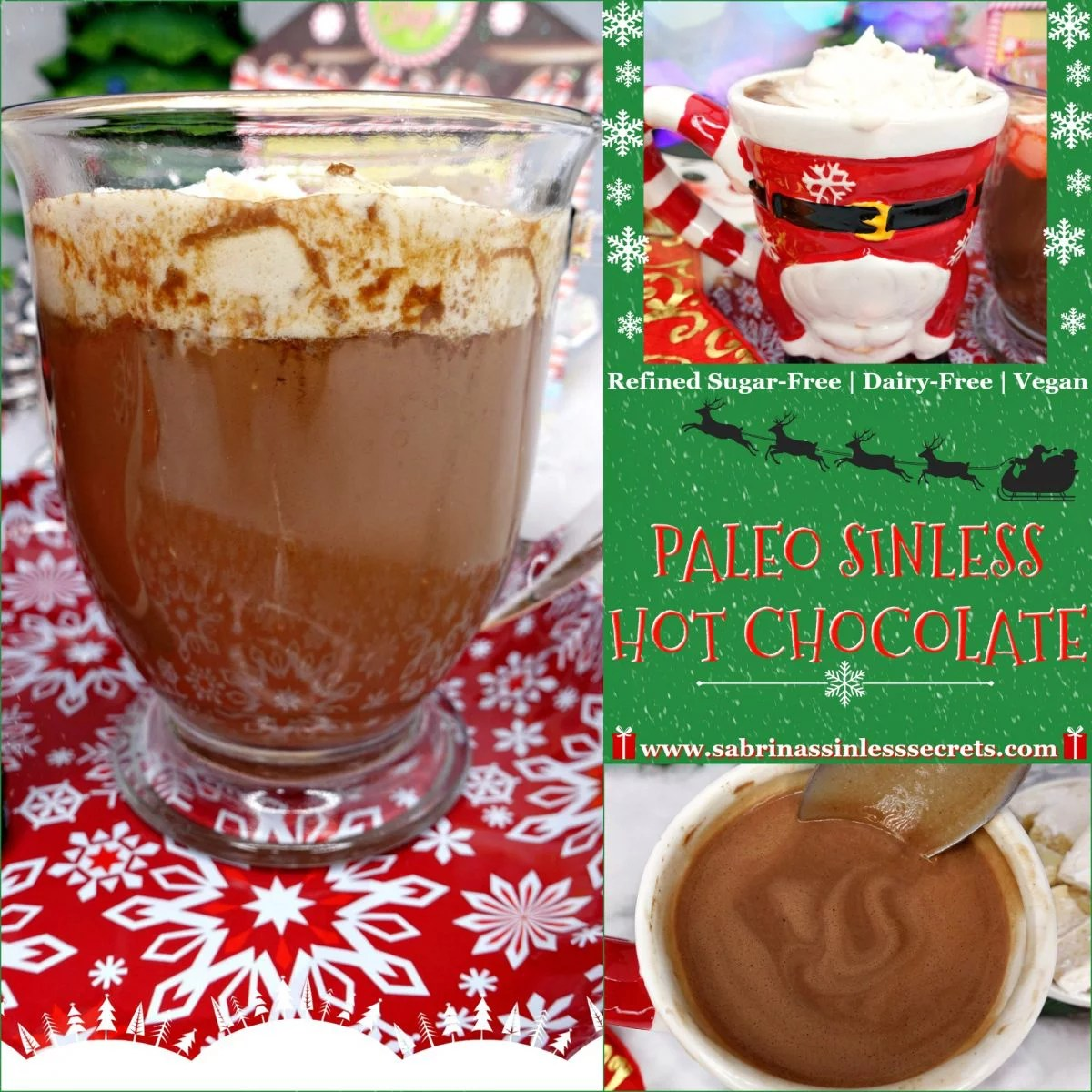 Paleo Sinless Hot Chocolate