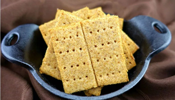 Paleo and Vegan Graham Crackers