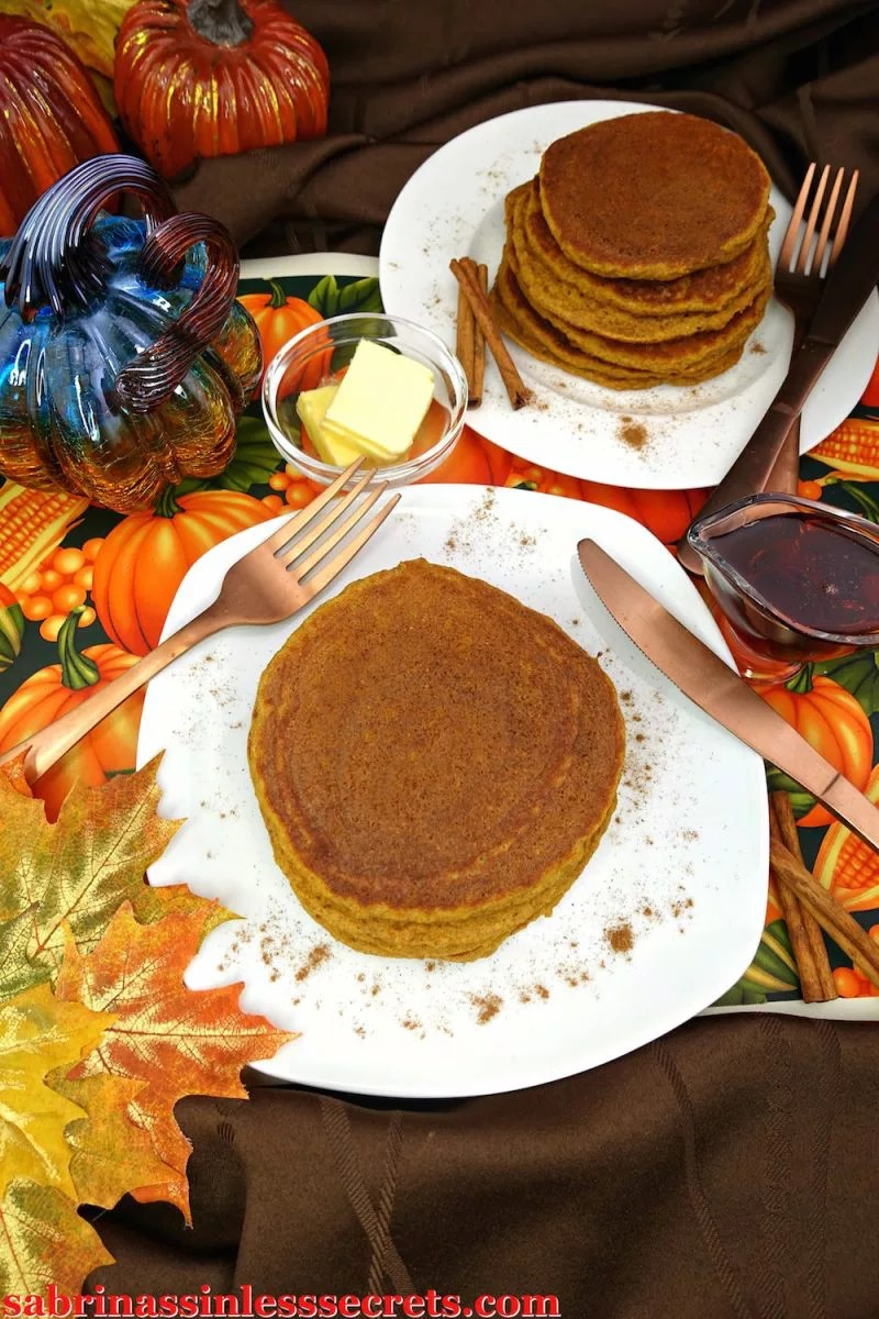 These really are The Best Paleo Pumpkin Pancakes! Perfectly thick, fluffy, sweet, and full of the fall flavors you can't deny! Not only are these pancakes mouth-wateringly delicious, but they're also gluten-free, dairy-free, grain-free, refined sugar-free, clean-eating, and super easy to make!
